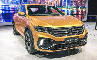 Volkswagen T-Rocstar — китайская версия T-Roc