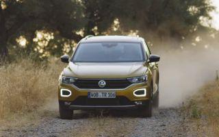 Обзор нового кроссовера Volkswagen T-Roc 2018