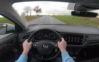 Тест-драйв Volkswagen T-Roc 1,0 TSI 115 л.с.