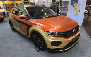 Тюнинг Volkswagen T-Roc: получился хетчбэк на полном приводе