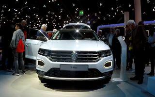 Volkswagen T-Roc — обзор с выставки во Франкфурте