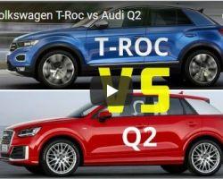 Сравнение: Volkswagen T-Roc VS Audi Q2