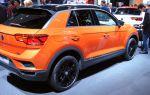 Обзор главного конкурента Creta — VW T-Roc / Франкфурт 2017
