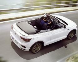 Volkswagen представил новый кабриолет на базе кроссовера T-Roc
