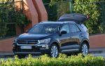 Появились первые фото нового кроссовера Volkswagen T-Roc