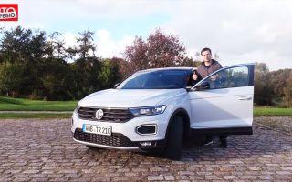 Тест-драйв Volkswagen T-Roc — MQB-автомобиль с настроением