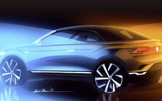 Volkswagen T-Roc Cabriolet — новая модель на базе кроссовера