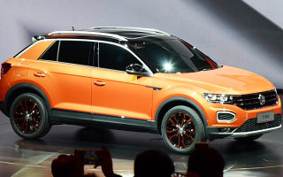 Новые кроссоверы Volkswagen для Китая: T-Roc и Tharu