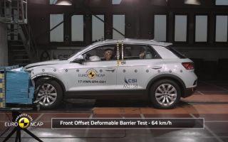 Краш-тест Volkswagen T-Roc