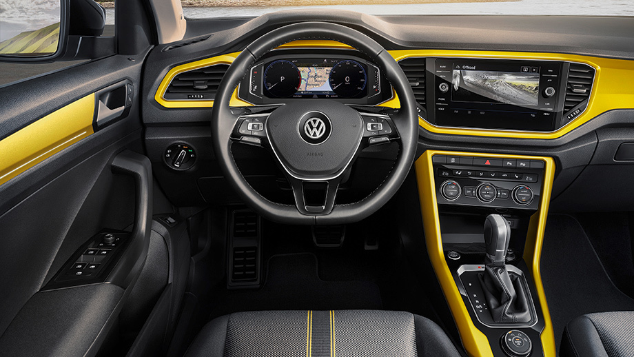 Интерьер Volkswagen T-Roc