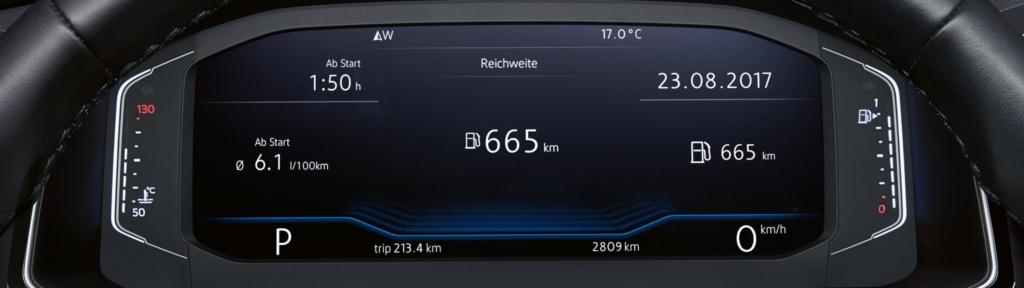 VW T-Roc приборная панель