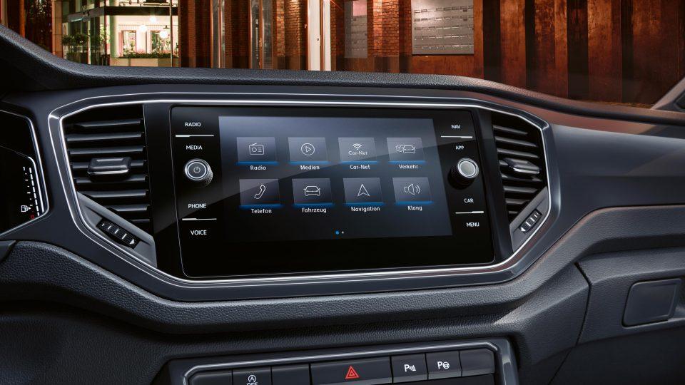 VW T-Roc мультимедиа система
