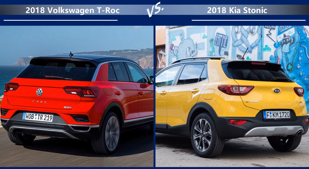 VW-T-Roc vs Kia-Stonic Динамика