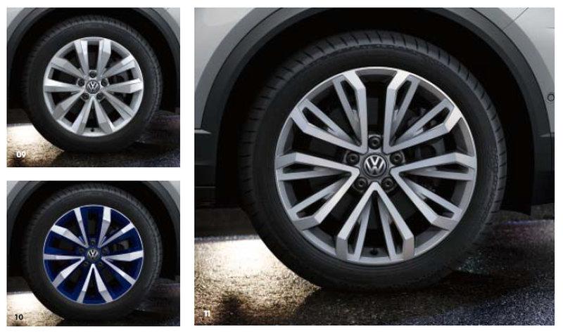 Диски VW T-Roc