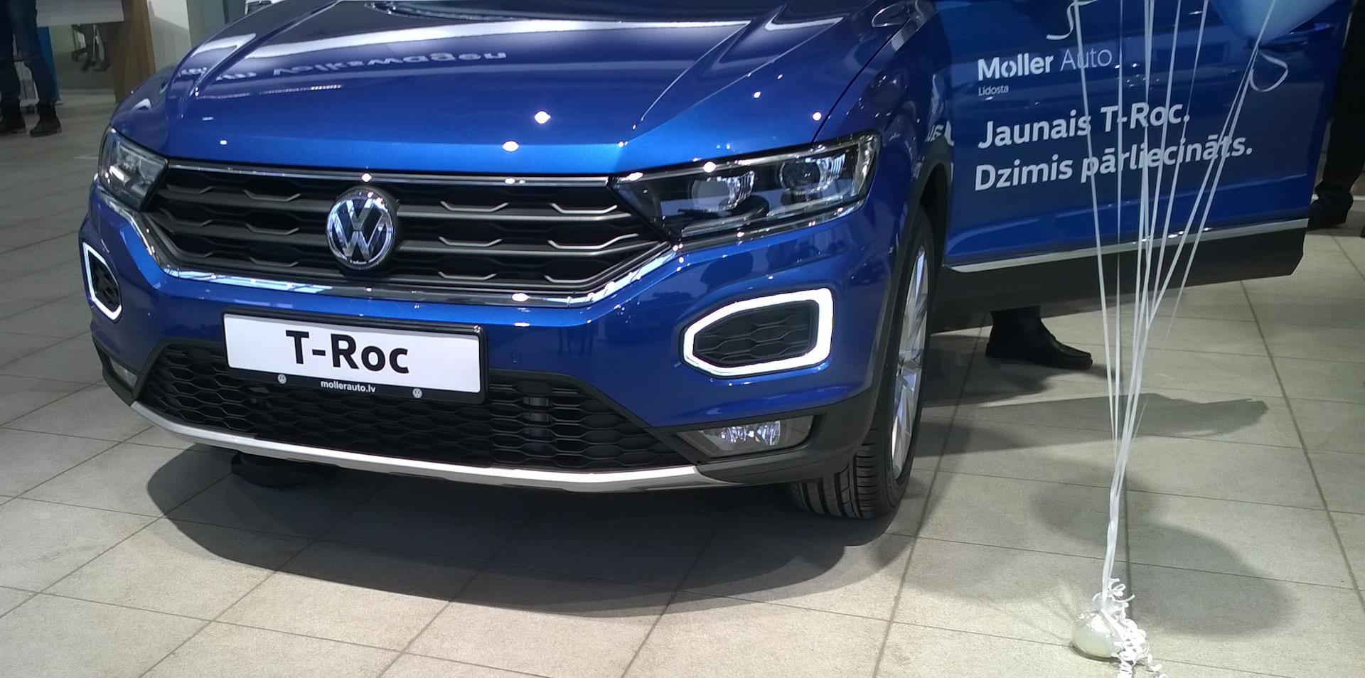 Volkswagen T-Roc Вид спереди
