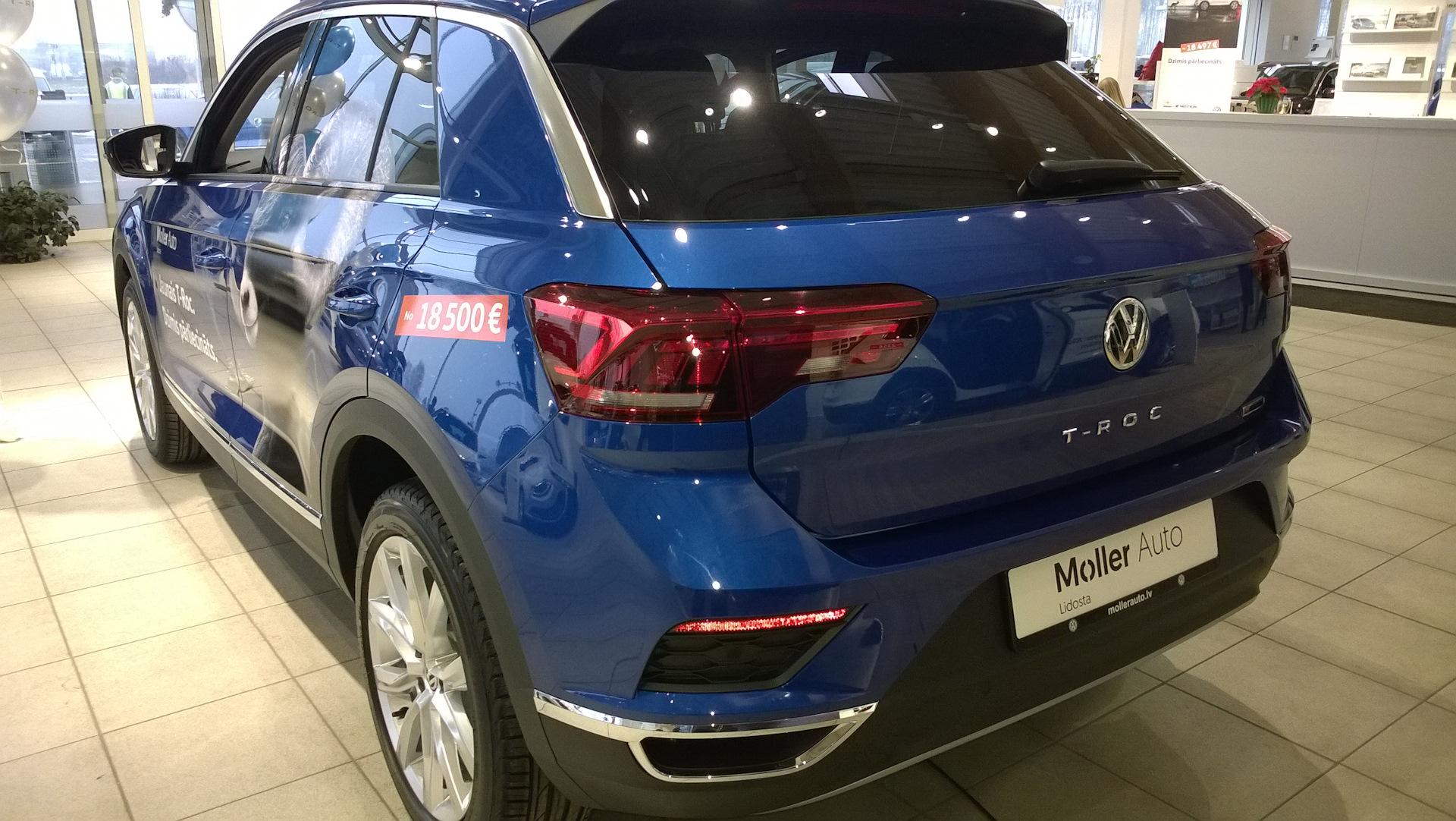 Volkswagen T-Roc Вид сзади