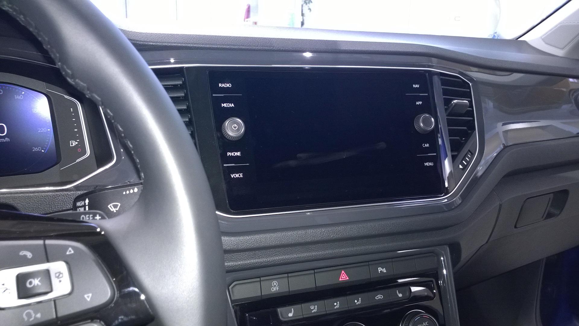 Volkswagen T-Roc Мультимедиа