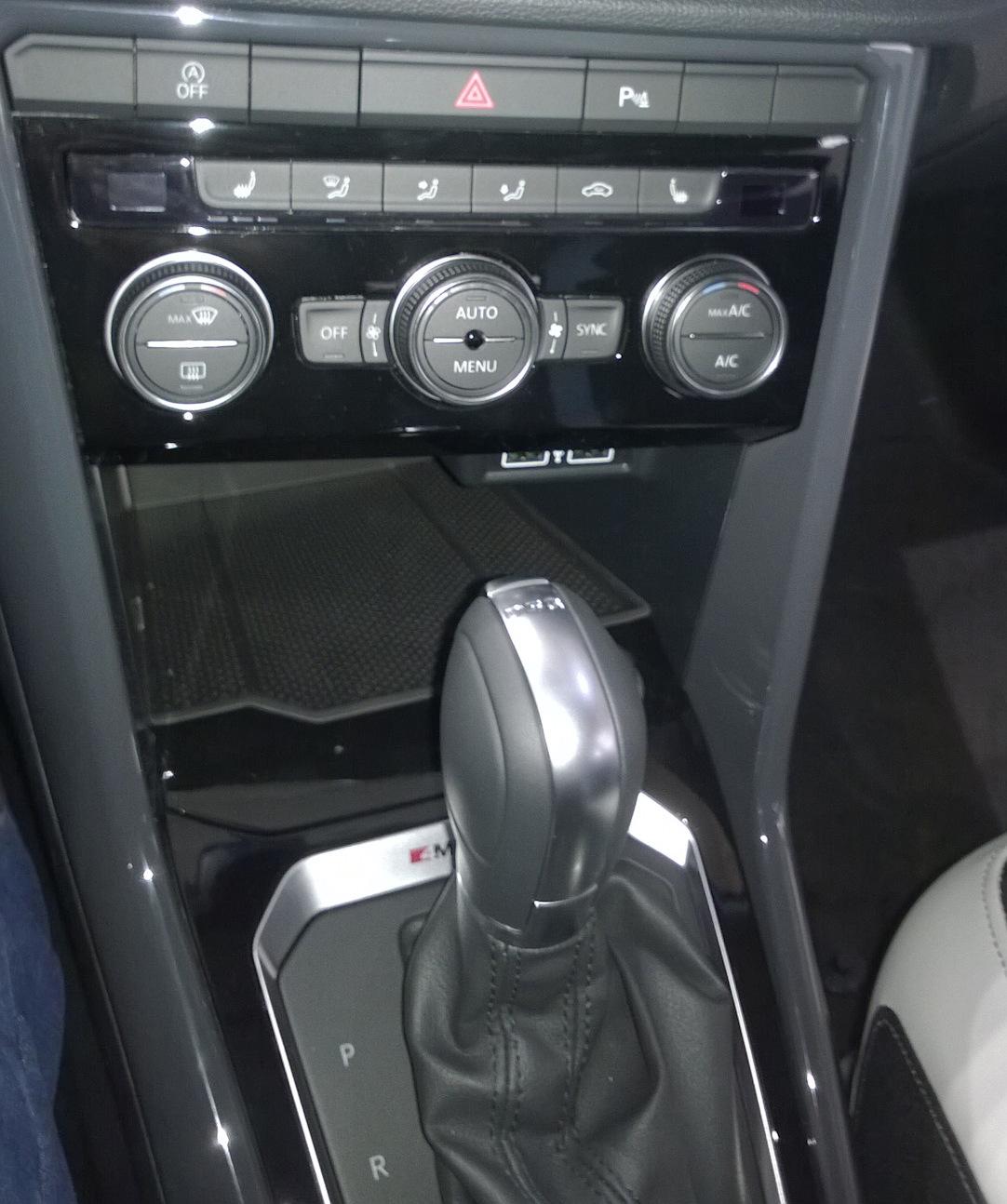 Volkswagen T-Roc Управление климатом