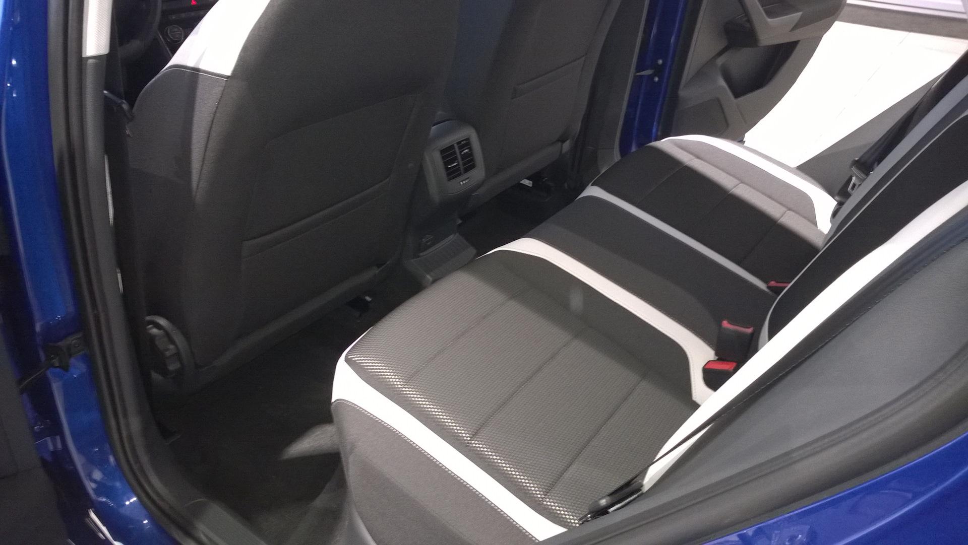 Volkswagen T-Roc Задние сидения