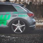 Volkswagen T-Roc Тюнинг пневмоподвеска