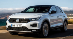 Тест-драйв Volkswagen T-Roc на асфальте