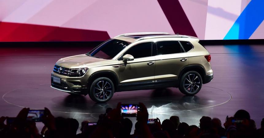 Volkswagen Tharu China