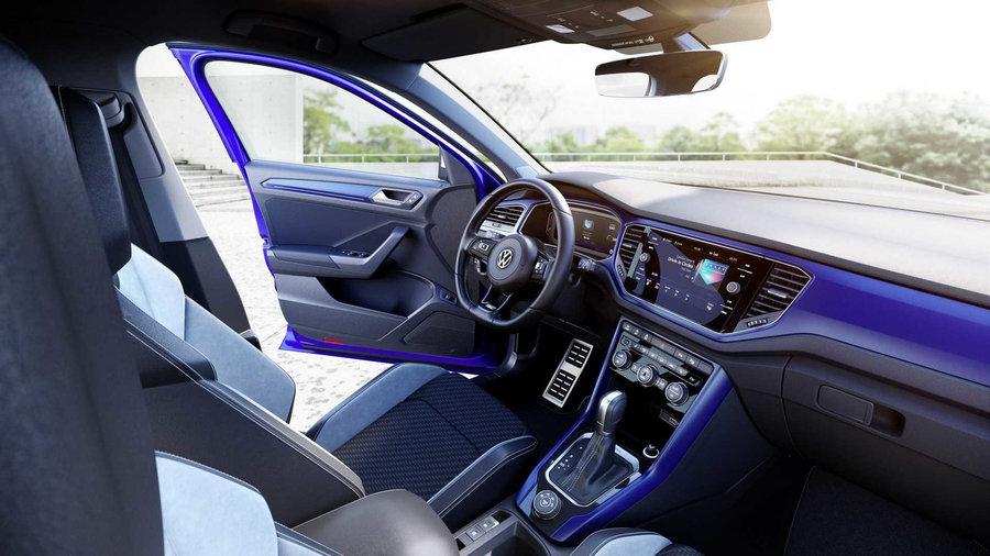 Volkswagen T-Roc R Реальное фото интерьера