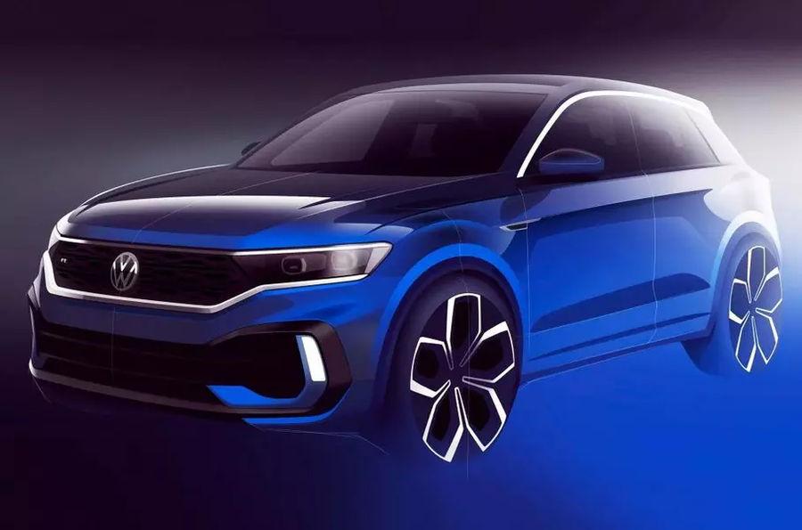 Volkswagen T-Roc R - первое фото дизайн макета