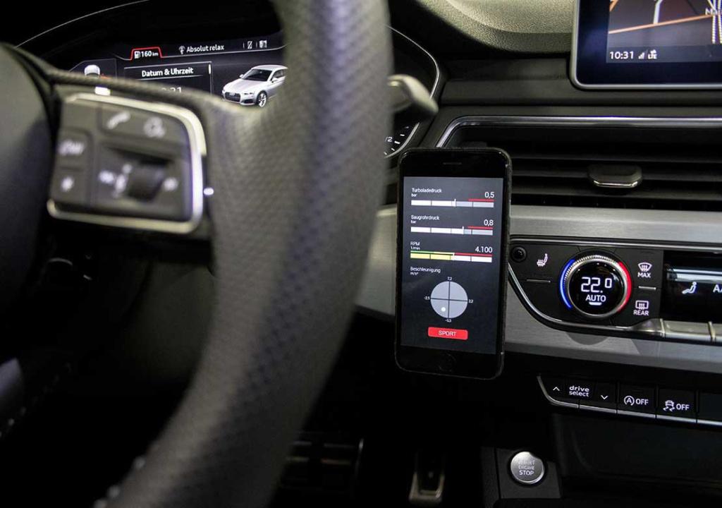 Мобильное приложение для управления чип-тюнингом