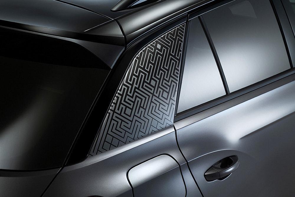 Аппликация на задней стойке Volkswagen T-Roc Black